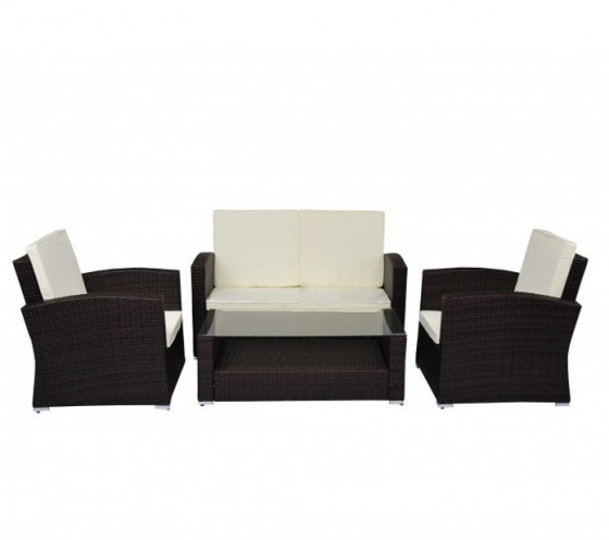 Bauhaus Gartenmobel Alina : PE Poly RATTAN LOUNGE Sofa Gartenmöbel in Horw kaufen bei ricardoch