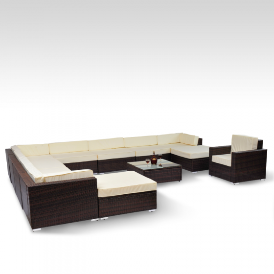 rattan lounge gartenm bel sitzgruppe in horw kaufen bei. Black Bedroom Furniture Sets. Home Design Ideas