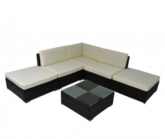 gartengarnitur rattan lounge gartenm bel in horw kaufen. Black Bedroom Furniture Sets. Home Design Ideas