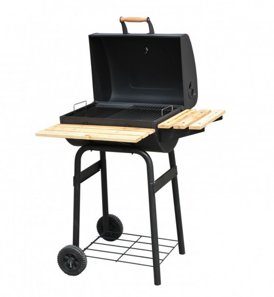 holzkohlegrill smoker grillwagen bbq in horw kaufen bei. Black Bedroom Furniture Sets. Home Design Ideas
