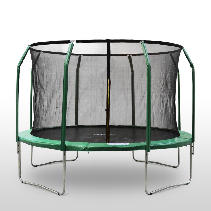 trampolin 3 7 m komplett set. Black Bedroom Furniture Sets. Home Design Ideas