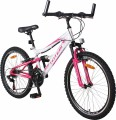 TOTEM MTB Jugendvelo 24  weiss/pink