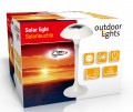 Solarlampe LED weiss
