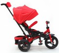 Tricycle pousette MILA rouge
