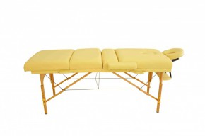 Table de massage 4 ZONES beige