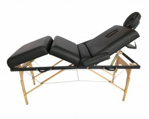Table de massage 4 zones noir