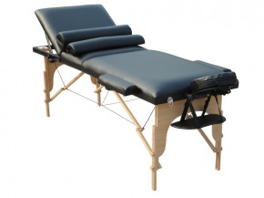 Table de massage 3 zones incl. rouleaux de genoux & nuque