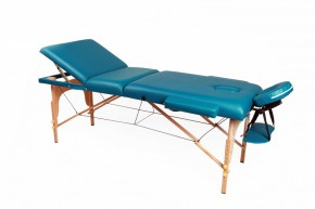 Table de massage 3 zones vert