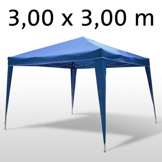 gartenpavillon partyzelt 3x3 m blau. Black Bedroom Furniture Sets. Home Design Ideas