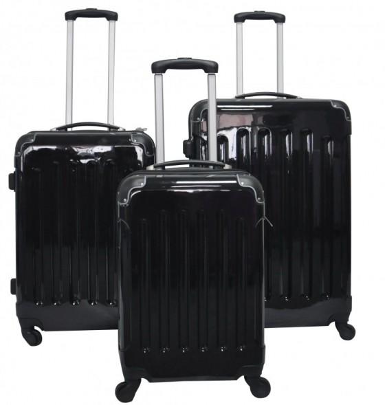 valises de voyage noires magasin en ligne gonser. Black Bedroom Furniture Sets. Home Design Ideas