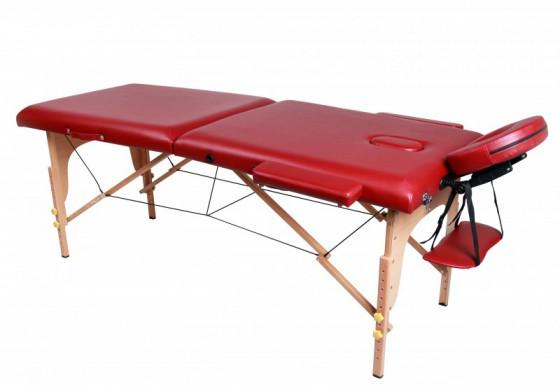 Table massage 2 zones rouge magasin en ligne gonser - Table de massage pas chere ...
