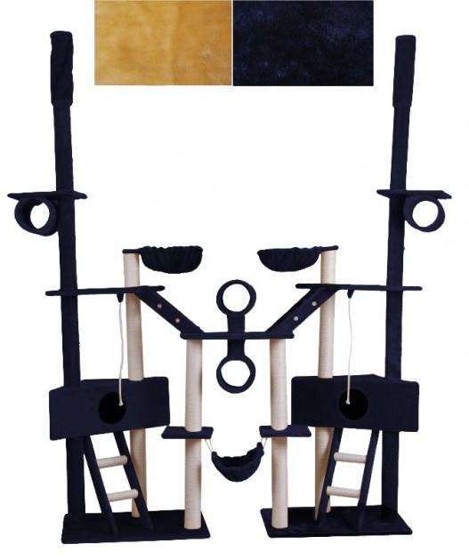 arbre chat hauteur de plafond 230 265 cm bleu magasin en ligne gonser. Black Bedroom Furniture Sets. Home Design Ideas