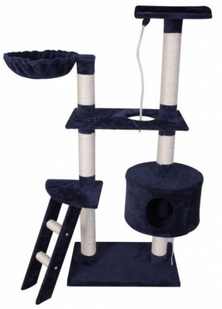 katzenbaum 150 cm hoch blau online shop gonser. Black Bedroom Furniture Sets. Home Design Ideas