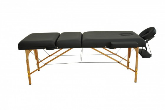 Table de massage 3 zones noir