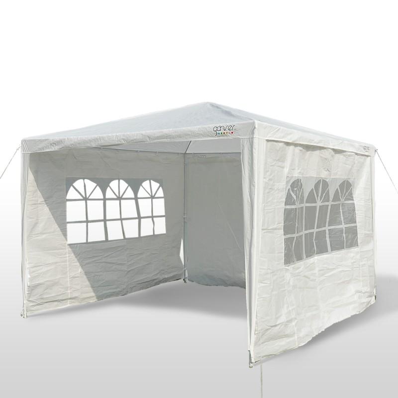 partyzelt 3x3x2 6 m weiss online shop gonser. Black Bedroom Furniture Sets. Home Design Ideas
