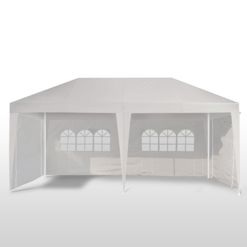 pavillon de jardin 3x6m blanc magasin en ligne gonser. Black Bedroom Furniture Sets. Home Design Ideas