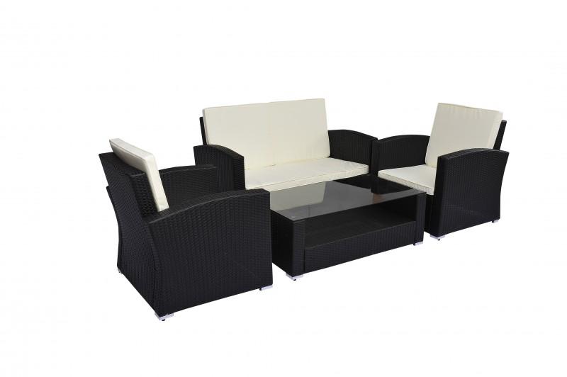 rattan lounge anthrazit online shop gonser. Black Bedroom Furniture Sets. Home Design Ideas