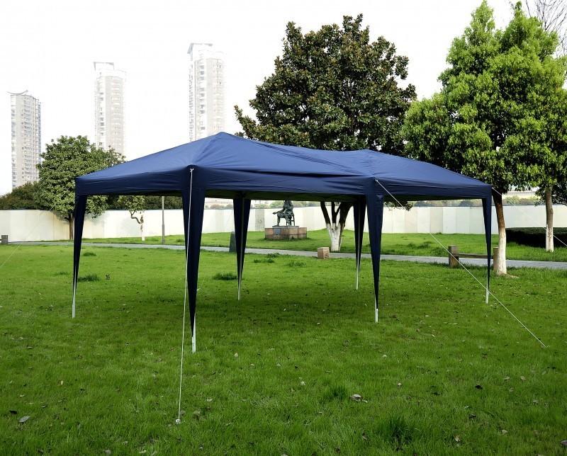 gartenpavillon 6 x 3 x 3 m blau online shop gonser. Black Bedroom Furniture Sets. Home Design Ideas