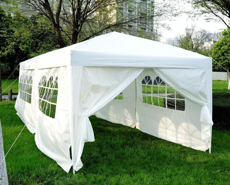 gartenpavillon 6x3x3m weiss online shop gonser. Black Bedroom Furniture Sets. Home Design Ideas
