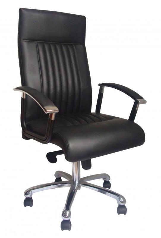 b rostuhl split leder schwarz online shop gonser. Black Bedroom Furniture Sets. Home Design Ideas