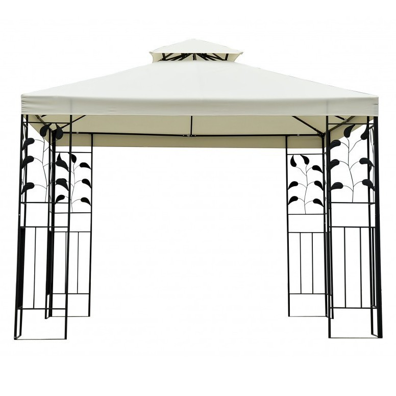 garten pavillon gazebo 3x3m online shop gonser. Black Bedroom Furniture Sets. Home Design Ideas