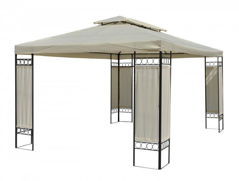 garten pavillon gazebo 3x4m online shop gonser. Black Bedroom Furniture Sets. Home Design Ideas