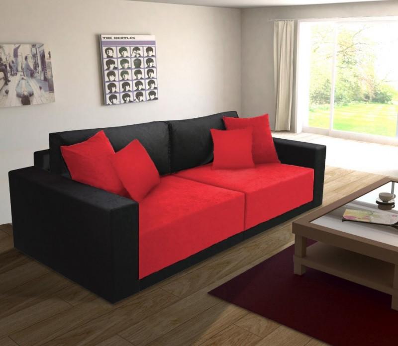 Wohnzimmer Rot Schwarz Wohndesign Ideen