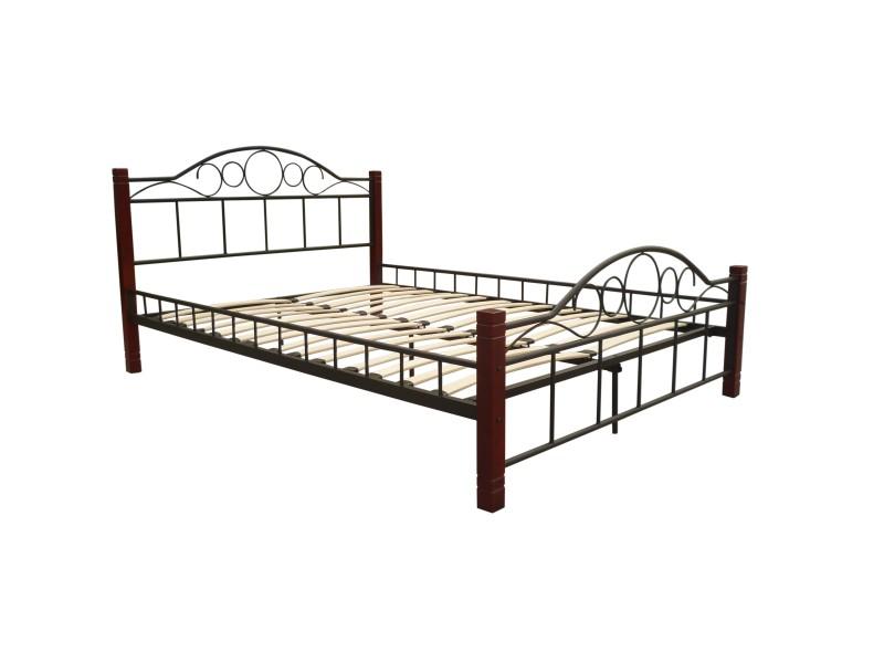 lit avec sommier 140x200cm magasin en ligne gonser. Black Bedroom Furniture Sets. Home Design Ideas