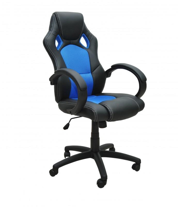 Bürostuhl Chefsessel blau | Online Shop Gonser