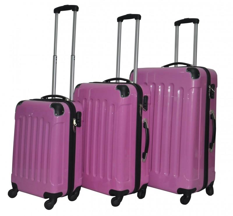 valise coque rigide rose magasin en ligne gonser. Black Bedroom Furniture Sets. Home Design Ideas