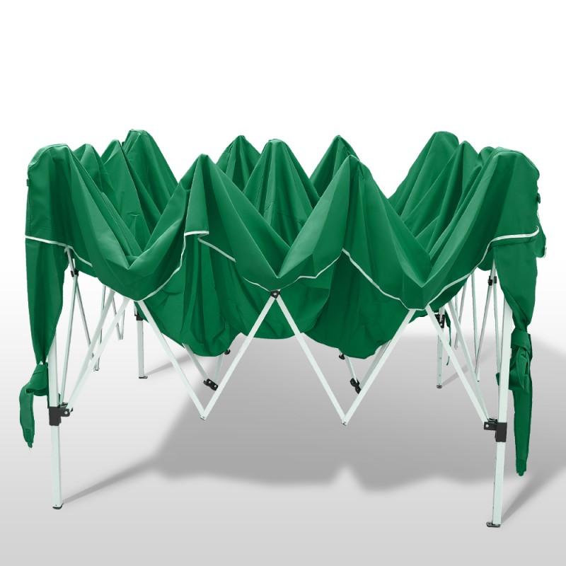 gartenpavillon 3x3 m gr n online shop gonser. Black Bedroom Furniture Sets. Home Design Ideas