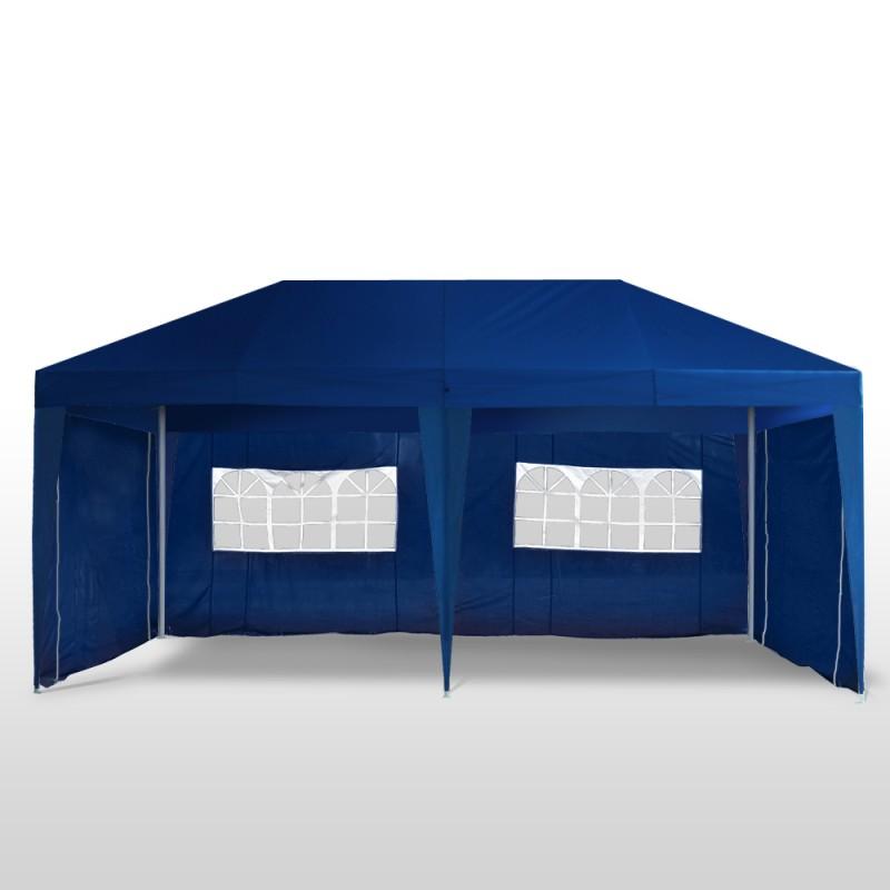 tente de f te 3x6 m bleu magasin en ligne gonser. Black Bedroom Furniture Sets. Home Design Ideas