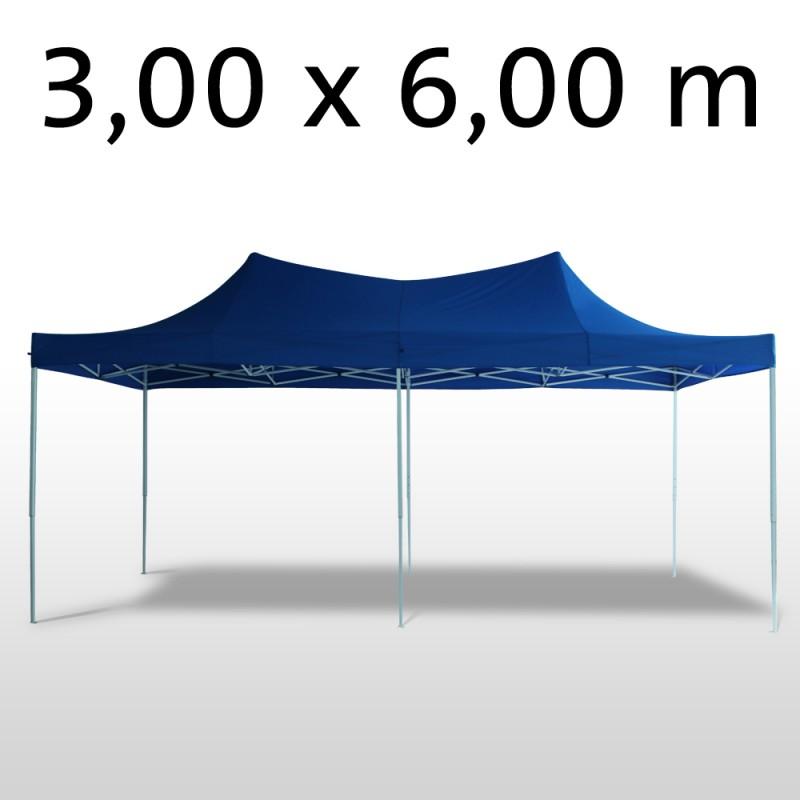 faltpavillon 6x3 m blau online shop gonser. Black Bedroom Furniture Sets. Home Design Ideas