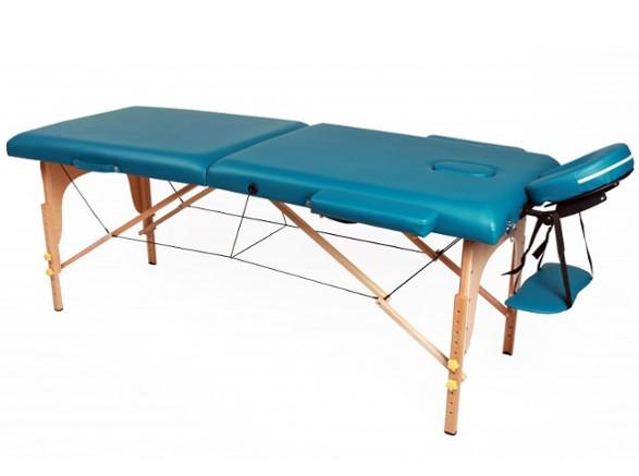 Table de massage 2 zones vert magasin en ligne gonser - Table de massage pas chere ...