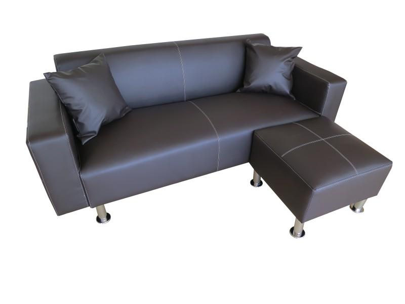Canap sofa marron magasin en ligne gonser - Canape disponible immediatement ...