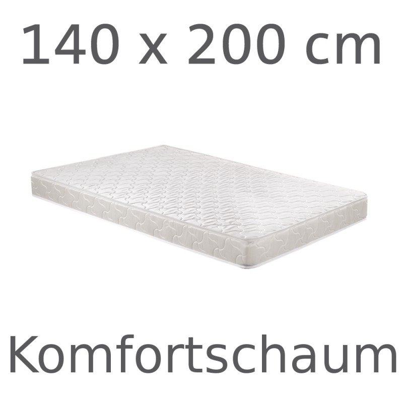 matelas mousse confort 140 cm magasin en ligne gonser. Black Bedroom Furniture Sets. Home Design Ideas