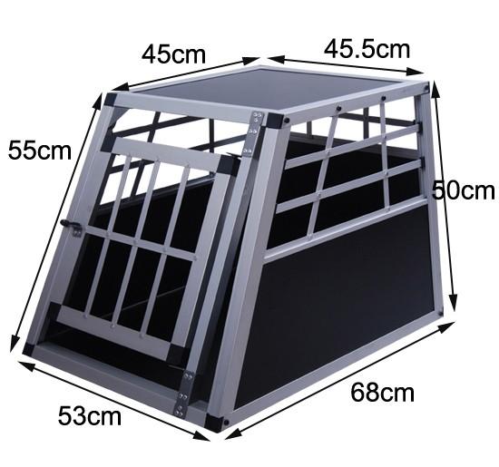 alu hundebox schwarz klein online shop gonser. Black Bedroom Furniture Sets. Home Design Ideas
