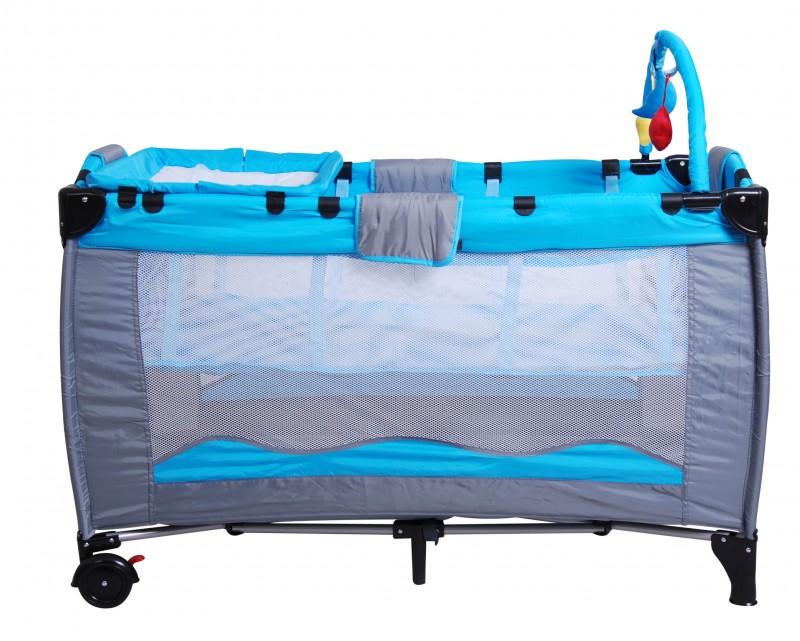 baby kinder reisebett blau online shop gonser. Black Bedroom Furniture Sets. Home Design Ideas