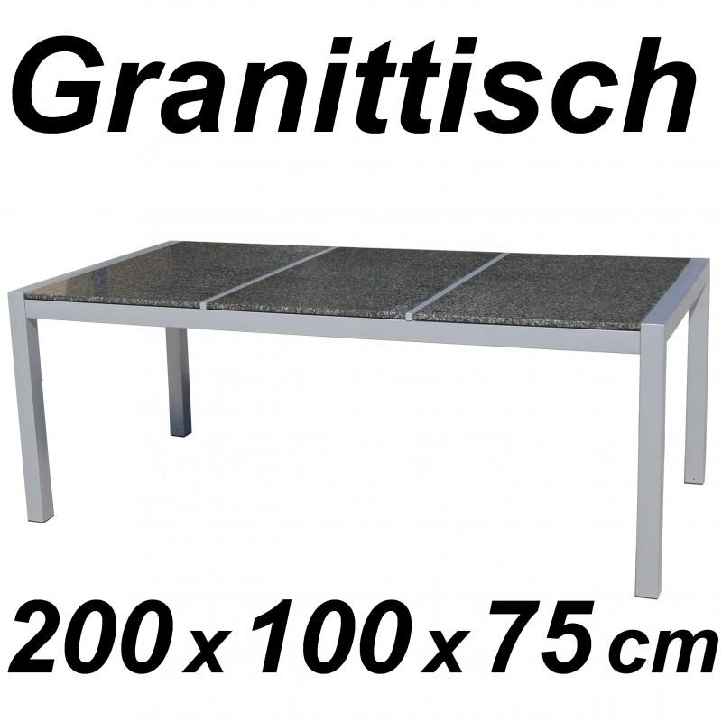 gartentisch granittisch gartenm bel 200 cm. Black Bedroom Furniture Sets. Home Design Ideas