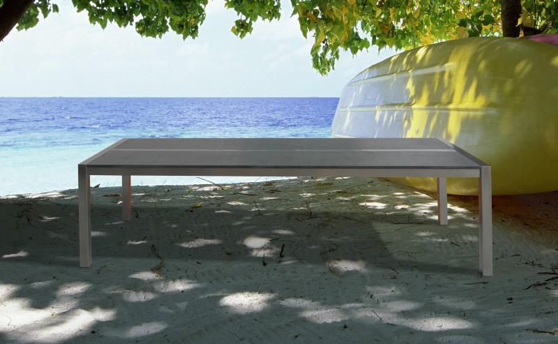 granittisch edelstahl 260 cm online shop gonser. Black Bedroom Furniture Sets. Home Design Ideas