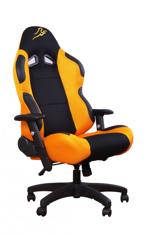 racing seat office chair ergorace b 252 rostuhl orange schwarz shop gonser 29623
